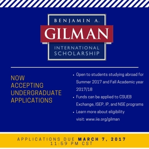 benjamin-a-gilman-scholarship